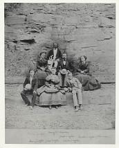 Henry E. Steinway and Ziegler family, circa 1870