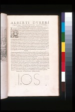 Alberti Dureri Pictoris Praestantiss Institutio