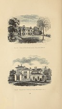 Fig. 44 Villa of Theodore Lyman, Esq. near Boston. Fig. 45 Residence of Bishop Doane, Burlington, N.J.