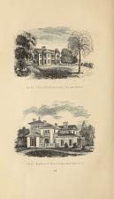 Fig. 44 Villa of Theodore Lyman, Esq. near Boston. Fig. 45 Residence of Bishop Doane, Burlington, N.J.