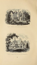 Fig. 57 Cottage Residence of Thomas W. Ludlow, Esq. near Yonkers, N.Y. Fig. 58 Residence of Washington Irving, Esq. near Terrytown, N.Y.