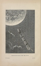 Projectile trains for the Moon.