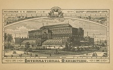 Horticulture Hall. International Exhibition.