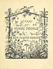 Botany for Young People. How Plants Behave.