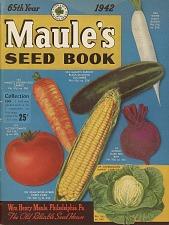 Maule's Seed Book, 1942.