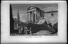Temple of Rome & Augustus at Pola