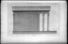 Temple of Rome and Augustus at Pola. Side Elevation