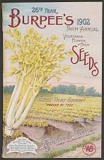 Burpee's Farm Annual Vegetable, Flower, and Farm Seeds.