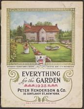 Restoration of Sulgrave Manor & Gardens Ancestral Home of the Washingtons. Everything for the Garden, 1926. Peter Henderson & Co.