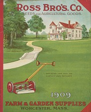 Ross Bro's. Co. Seeds and Agricultural Goods.