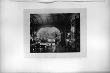 Mr. Frederick F. Thompson's Dining-Room, With Conservatory.