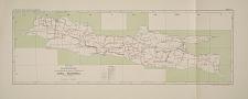 Kaart No. III. Bladwijzer voor de geologische kaart in 26 bladen van Java en Madoera.