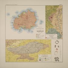 Kaart No. V. Geologische kaart van Bawean. No. VII. Geologische kaart van het terrein bij Nanggoelan (Jogjakarta). No. VIII. Geologische kaart van het Lol Oelo-Terrein.