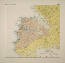 Geologische kaart van de omstreken der Tjiletoe-Baai
