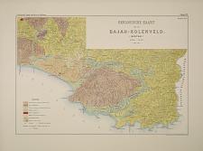Geologische kaart van het Baja-Kolenveld. (Bantam.)
