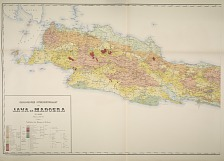 Geologische overzichtskaart van Java en Madoera in 2 bladen