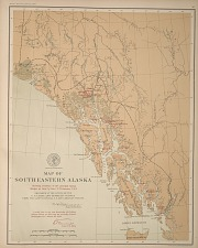 Map of Southeastern Alaska ...