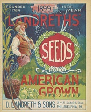 Landreth's Seeds American Grown.