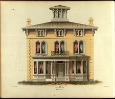 Villa, No. 2. Front Elevation.