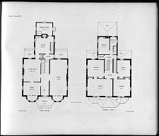 Plans for Villa, No. 2.