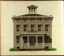 Villa No. 3, Front Elevation.