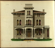 Villa. No. 4, Front Elevation.