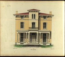 Villa, No. 6. Front Elevation.
