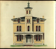 Villa, No. 9. Front Elevation.