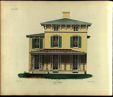 Cottage, No. 14. Front Elevation.