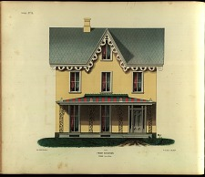 Cottage, No. 15. Front Elevation.