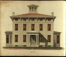Mansion. No. 22. Front Elevation.