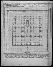 Plan du Temple de Salomon ...