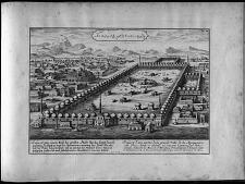 Prospect d'une partie de la grande ville de la Mecque ...