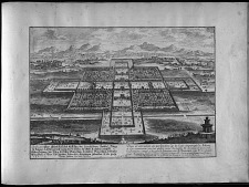 Plan et elevation en perspective de la Cour imperiale de Peking ...