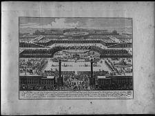 Premier projet que l'auteur a formé pour placer la Venérie Imperiale sur la hauteur de Schönbrun ...
