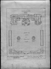 Plan de Schönbrun, une des maisons de chasse de sa Maj. Imp.