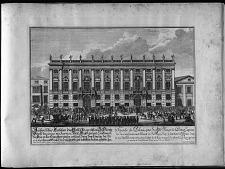 Facade du Palais que ... le Prince Eugéne