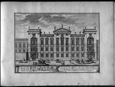 Elévation du palais ... le Comte Jean Wenceslas de Gallas ... Prague dans la Ville ancienne.