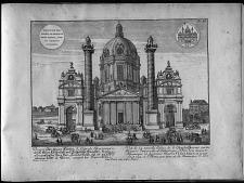 Vue de la nouvelle Eglise de S. Charles ... Vienne