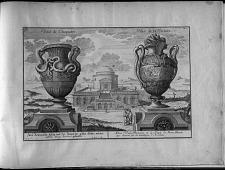 Deux Vases Romains et le Temple de Bons Dieux