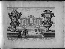 Veue du Bâtiment au bout du Jardin du Prince de Lichtenstain á Vienne ...