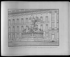 Entwurf für einen öffentlichen brunnen als denkmal der ereignisse in den jahren 1813, 1814, 1815