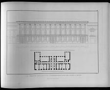 Die vereinte artillerie und ingenieur-schule unter den linden in Berlin.