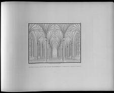 Perspectivische ansicht vom inneren der entworfenen St Gertrauds kirche zu Berlin.