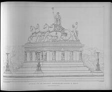 Entwurf für ein monument Friedrichs des Grossen in Berlin.