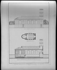 Entwurf einer kleinen kirche für den kreis von Malmedi.