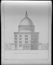 Ansicht der kirche der oranienburger vorstadt bei Berlin. Nach dem entwurf No. IV.