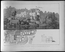Entwurf für das landhaus des Prinzen Wilhelm K. H. auf dem Babelsberge bei Potsdam.