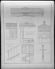 Facade des pallasts nach der restauration für die wohnung seiner konigl. Hoheit des Prinzens Karl.
