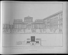 Entwurf eines denkmal für König Friedrich des Grossen auf dem platze der alten ...